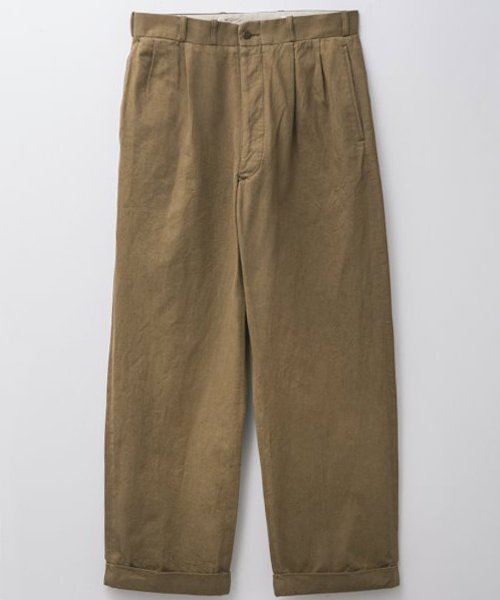 <img class='new_mark_img1' src='https://img.shop-pro.jp/img/new/icons20.gif' style='border:none;display:inline;margin:0px;padding:0px;width:auto;' />RAGTIME 2TACK CHINO TROUSERS (WASHED)