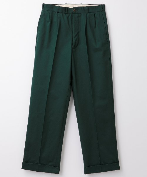 <img class='new_mark_img1' src='https://img.shop-pro.jp/img/new/icons20.gif' style='border:none;display:inline;margin:0px;padding:0px;width:auto;' />RAGTIME CHINO 2TACK TROUSERS