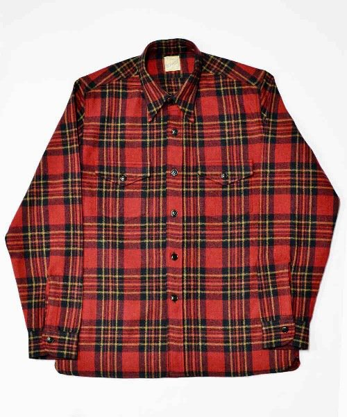 <img class='new_mark_img1' src='https://img.shop-pro.jp/img/new/icons20.gif' style='border:none;display:inline;margin:0px;padding:0px;width:auto;' />RAGTIME PLAID FLANNEL SHIRTS
