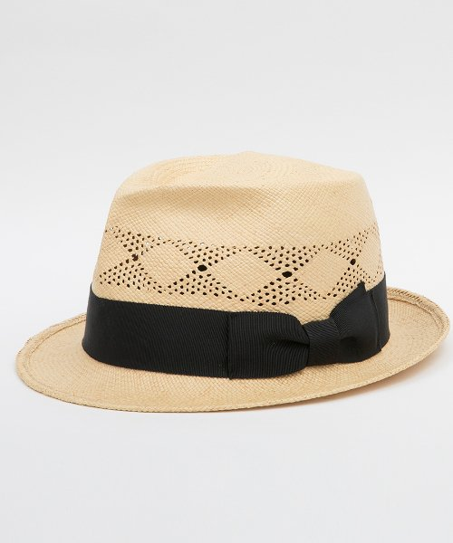 <img class='new_mark_img1' src='https://img.shop-pro.jp/img/new/icons20.gif' style='border:none;display:inline;margin:0px;padding:0px;width:auto;' />RAGTIME PANAMA HAT PUNCHING ARGYLE