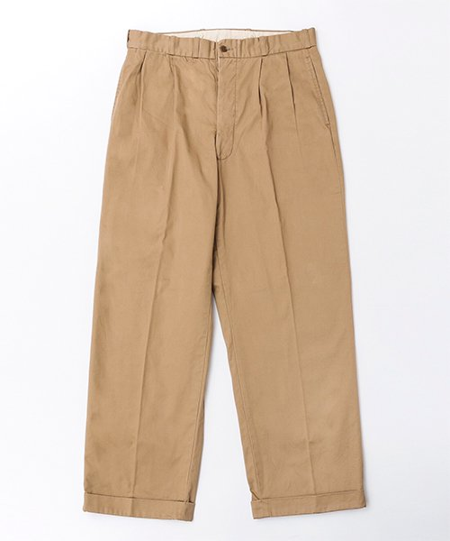RAGTIME CHINO 2TACK TROUSERS  (AGED)