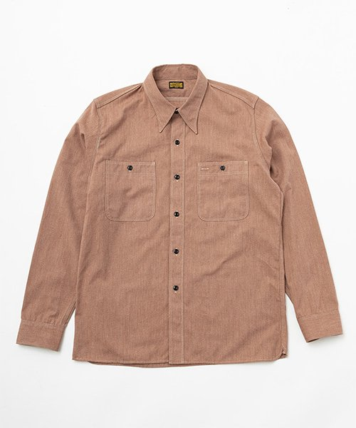 <img class='new_mark_img1' src='https://img.shop-pro.jp/img/new/icons20.gif' style='border:none;display:inline;margin:0px;padding:0px;width:auto;' />RAGTIME TRIPLE STITCH CHAMBRAY SHIRTS