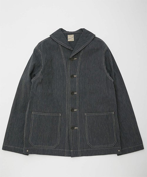 <img class='new_mark_img1' src='https://img.shop-pro.jp/img/new/icons20.gif' style='border:none;display:inline;margin:0px;padding:0px;width:auto;' />RAGTIME RAILROAD SHAWL COLLAR JACKET