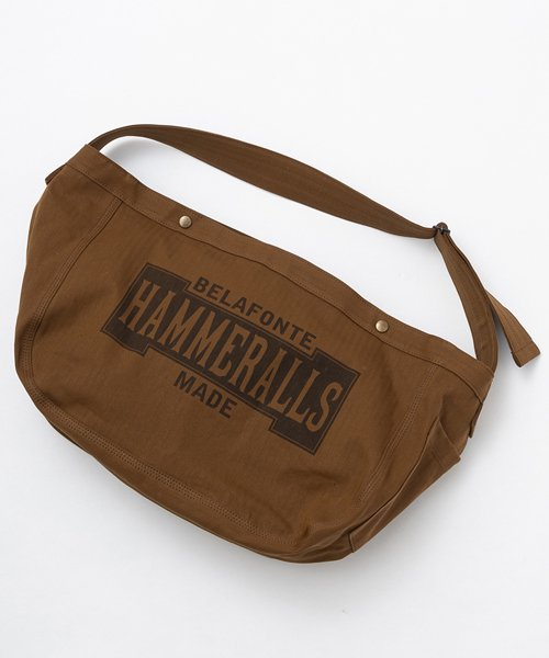 RAGTIME HERRINGBONE NEWSPAPER BAG   (HAMMERALLS )