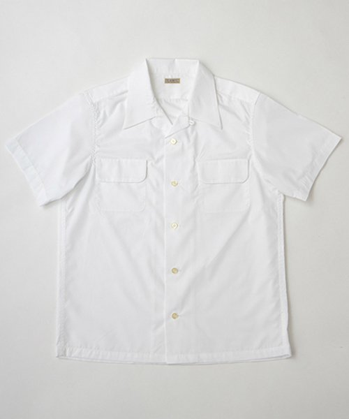 RAGTIME OPEN COLLAR FLAP PKT BROAD S/S SHIRTS