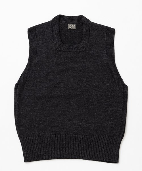 RAGTIME CIVILIAN CROSS KNIT VEST SQUARE NECK 2020