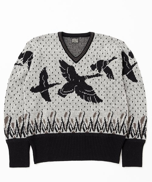RAGTIME WILD DUCK V NECK SWEATER