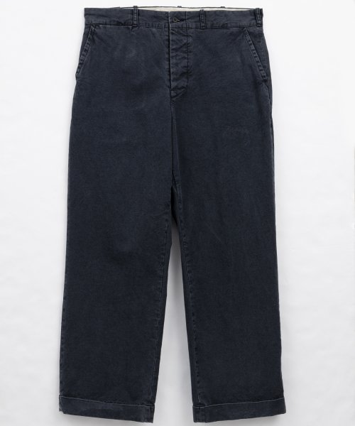 RAGTIME CANVAS CINCHBACK TROUSERS AGED