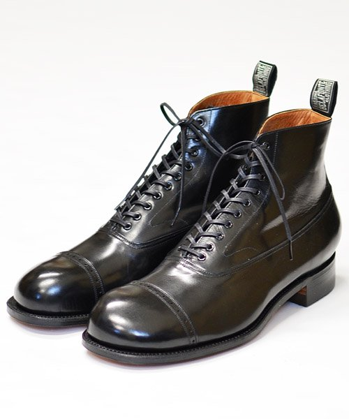RAGTIME PONTON ANKLE BOOTS (BRASS TOKYO MADE)