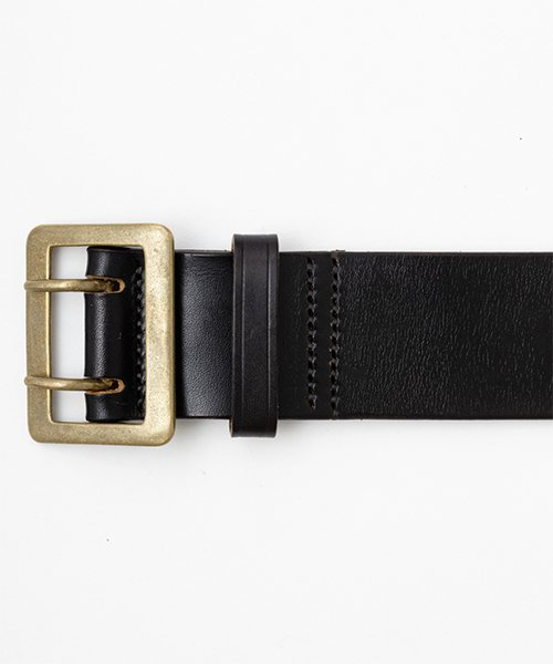 RAGTIME DOUBLE PRONG LEATHER GARRISON BELT 50mm