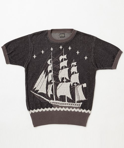 RAGTIME SAILING BOAT COTTON SWEATER S/S