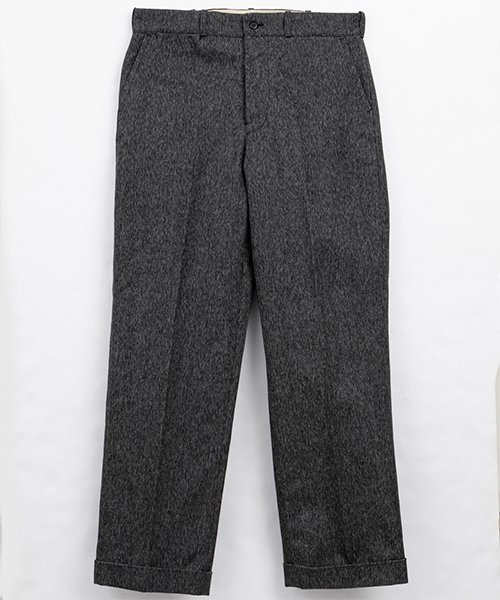 <img class='new_mark_img1' src='https://img.shop-pro.jp/img/new/icons56.gif' style='border:none;display:inline;margin:0px;padding:0px;width:auto;' />RAGTIME CINCHBACK TROUSERS HEAVY BLACK CHAMBRAY