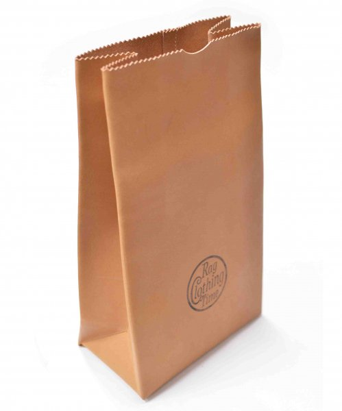 RAGTIME LEATHER PAPER BAG (RTC CIRCLE )ALTER-EGO LIMITED MARK