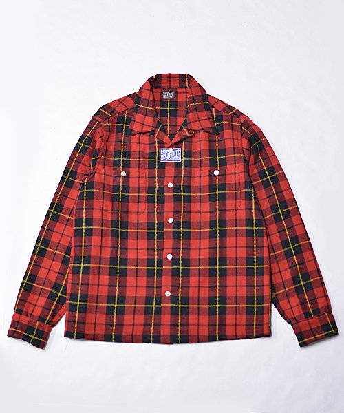 <img class='new_mark_img1' src='https://img.shop-pro.jp/img/new/icons20.gif' style='border:none;display:inline;margin:0px;padding:0px;width:auto;' />RAGTIME OG PLAID FLANNEL OPEN SHIRTS