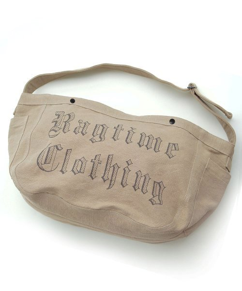 <img class='new_mark_img1' src='https://img.shop-pro.jp/img/new/icons14.gif' style='border:none;display:inline;margin:0px;padding:0px;width:auto;' />RAGTIME  NEWSPAPER BAG CANVAS  OE LETTER PRINT