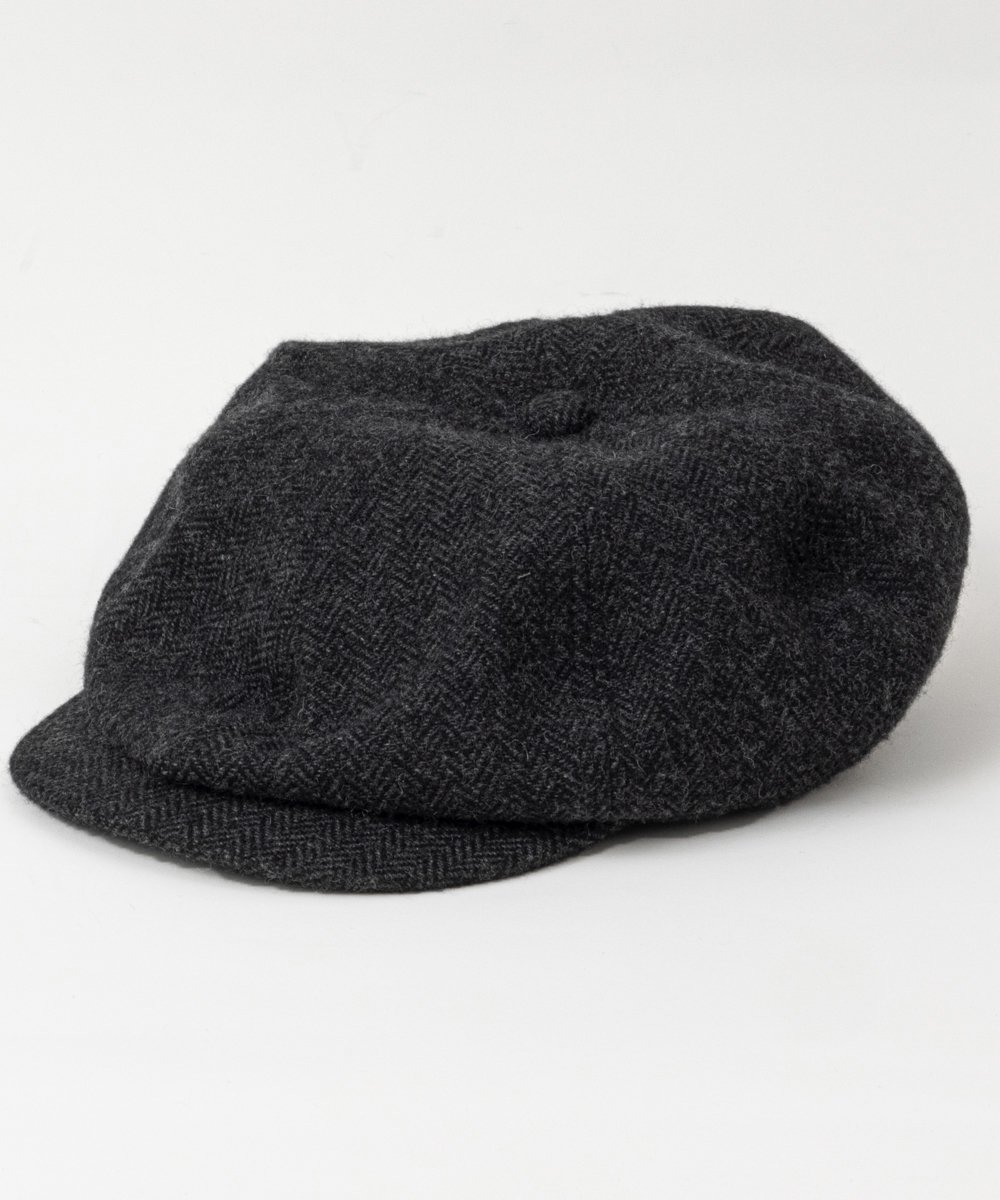 <img class='new_mark_img1' src='https://img.shop-pro.jp/img/new/icons14.gif' style='border:none;display:inline;margin:0px;padding:0px;width:auto;' />RAGTIME PEAKY HAT COTTON WOOL HERRINGBONE