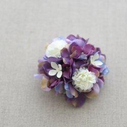 コサージュ 紫陽花