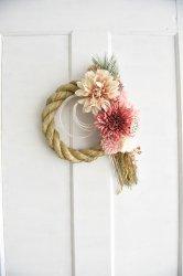 ダリアと菊のお飾り・縦