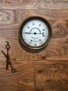 ビンテージ 水圧計