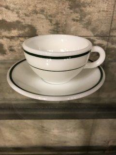 ビンテージ パイレックスコーニングカップ&ソーサー1