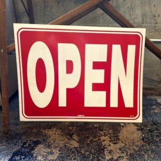 OPEN/CLOSE サイン