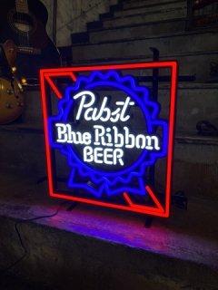 Pabst Blue Ribbon ネオンサイン