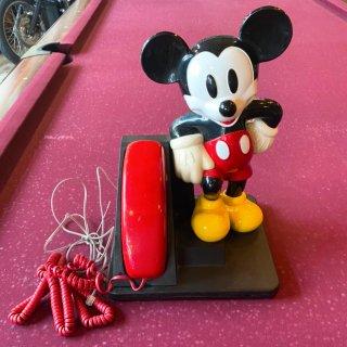 DISNEY ミッキーマウス電話機