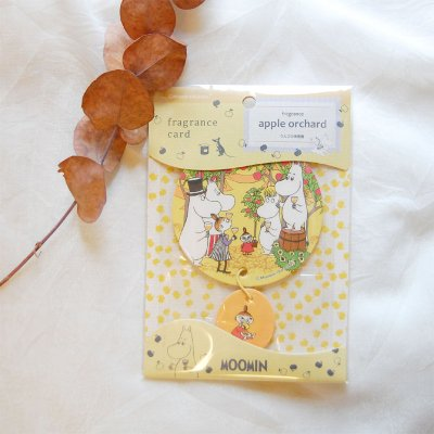 MOOMIN(ムーミン) サシェ&フレグランスカード りんごの果樹園の香り