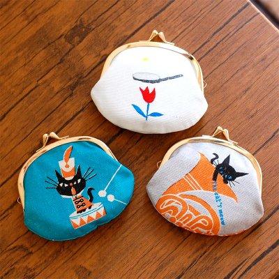 cozyca products(コジカプロダクツ) 日本製 デザイナーズ がま口財布 3.3寸