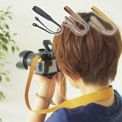 カメラストラップ 一眼レフ シンプル ストラップ レザー