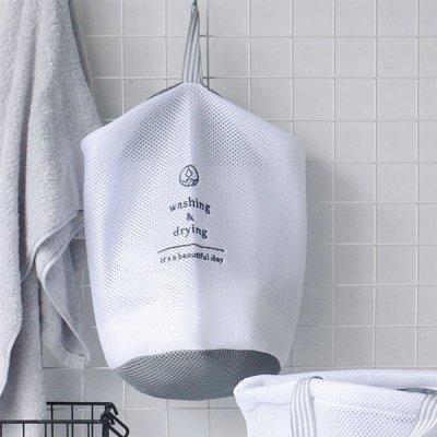 W/D ランドリーネット 筒型 洗濯ネット タオル 大きめ