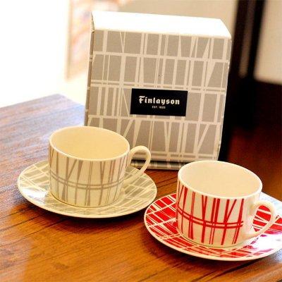 Finlayson(フィンレイソン) カップ&ソーサー 240ml