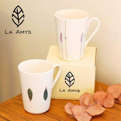 LA AMYS(ラ・エミーズ) マグカップ ベイリーフ 220ml