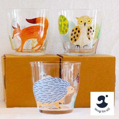 mug for all(マグフォーオール) 松尾ミユキ ガラスタンブラー 270ml【mug for all】