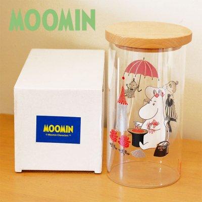 MOOMIN(ムーミン) 耐熱ガラスキャニスター 1100cc
