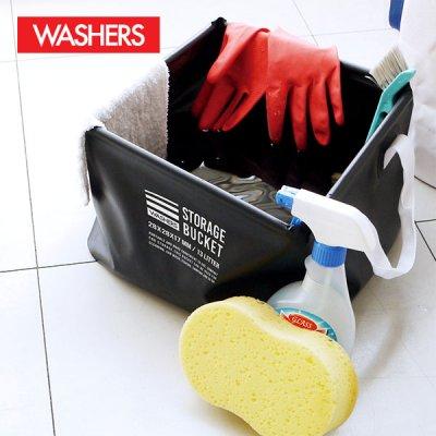 ターポリンバスケット 折りたたみバケツ 掃除 収納 キッチン バスルーム