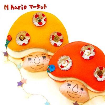 M hario マーケット(エムハリオマーケット) きのこさん知育玩具 子供の北欧かわいい勉強おもちゃ