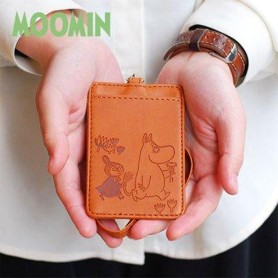 MOOMIN(ムーミン) 2ポケット パスケース 北欧おしゃれ&かわいいパスケース