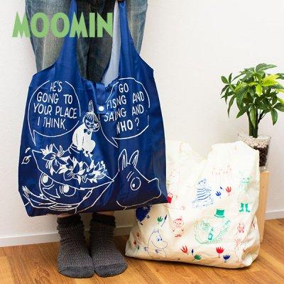 MOOMIN(ムーミン) くるくるエコバッグ 北欧おしゃれ&かわいい買い物バッグ