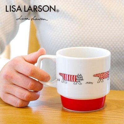 LISA LARSON(リサラーソン) マイキー マグカップ 北欧おしゃれ&かわいいコップ