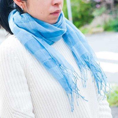 宮崎あゆみ(みやざきあゆみ) コットン シルク ストール レディース大人風の綺麗めストール