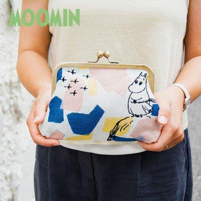 MOOMIN(ムーミン) ゴブラン織り がま口ポーチ 北欧おしゃれ&かわいいポーチ