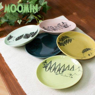 MOOMIN(ムーミン) レヘティア 14プレート ムーミンと仲間たちのお皿