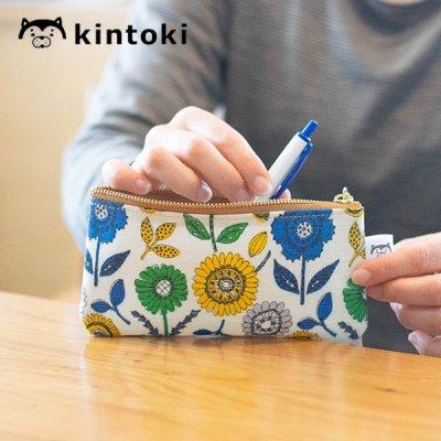 kintoki(キントキ) ラミネート生地ペンケース 小物入れにもなるペンケース