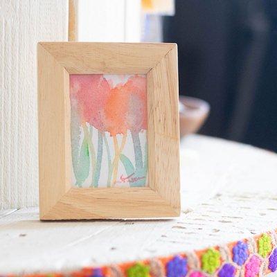 cHiYako(チヤコ) 小さめサイズのお洒落なインテリアになる水彩画 小さめのサイズの水彩画