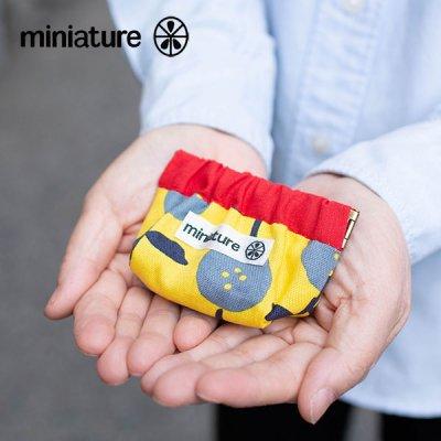 miniature(ミニチュア) 口金バネ コインポーチ バネが強めの口金コインケース