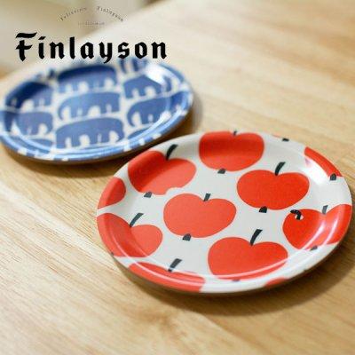 Finlayson(フィンレイソン) 200周年デザイン白樺コースター 小皿としても使えて簡単に拭き取れるお皿