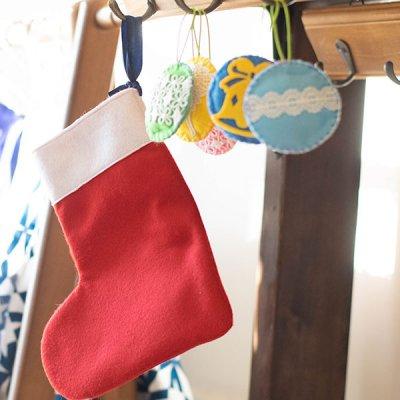 ぴぺたぺぴた(ピペタペピタ) 洗えるフェルトクリスマスオーナメント 可愛いインテリになるお手入れしやすい