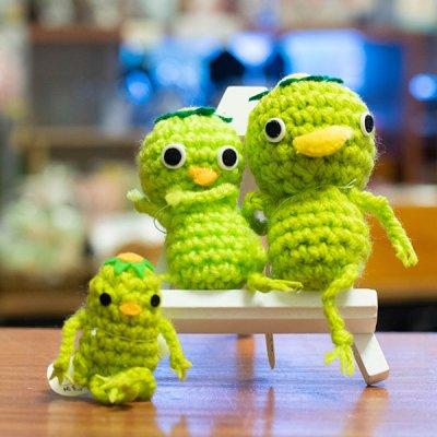 ぴぺたぺぴた(ピペタペピタ) かっぱのあみぐるみバラ売り 手編みの可愛いぬいぐるみ