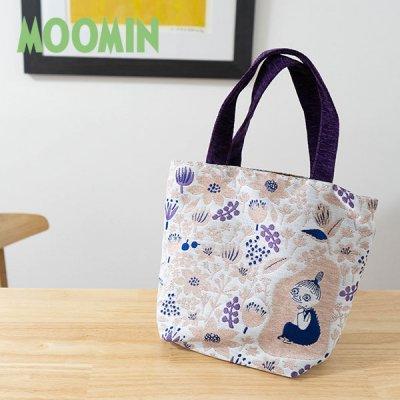 MOOMIN(ムーミン) ブリス ゴブラン織りミニバッグ 高級感のある手提げバッグ